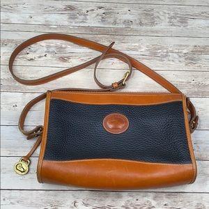 Dooney & Bourke AWL vintage leather crossbody bag
